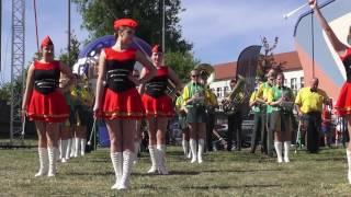 Dni Ostrowi 2017: Mażoretki i orkiestra Dęta na oficjalnym otwarciu dni miasta