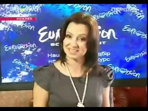 Нацотбор Евровидение 2012  Оксана Нестеренко   'Mondo Blu'