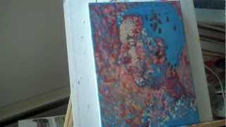 Self Portrait  - Pointillism