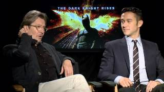 Mroczny Rycerz Powstaje - Wywiad: Joseph Gordon-Levitt & Gary Oldman