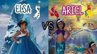 RAP DE PRINCESAS | LA PRINCESA ARIEL VS LA REYNA ELSA| BATALLA DE RAP EPICA