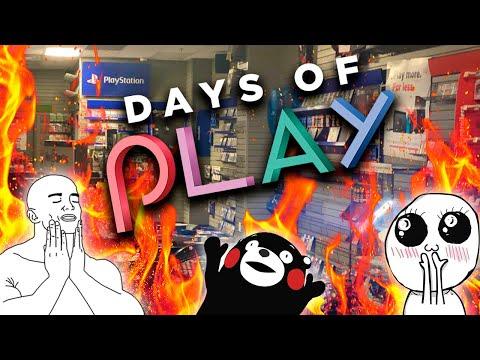 Скидки на игры PS4 Июнь 2020 (Days Of Play)