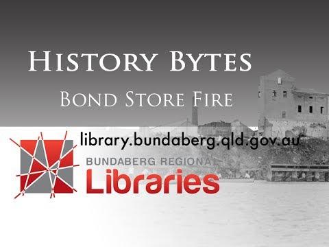 Bond Store Fire - Bundaberg November 1936