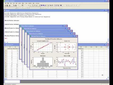 minitab 16 tutorial 1 split plot doe part ii minitab