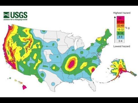 Here Is A Look At The Most Dangerous Fault Line Regions In The USA