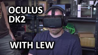 Oculus Rift DK2 Overview and Impressions - Featuring Lew from UnboxTherapy