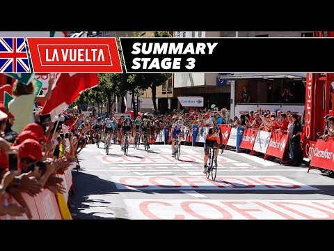 Summary - Stage 3 - La Vuelta 2017