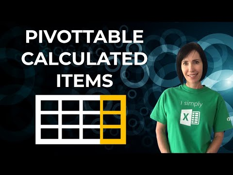 Excel PivotTable Calculated