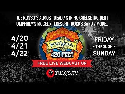 Sweetwater 420 Fest 4/20-22/2018 Atlanta, GA