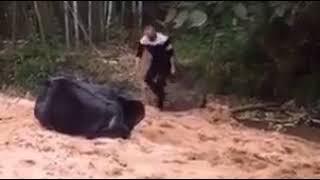Boy vs Girls in jungle