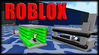 Playing Roblox-Balding in the boats-Part 2