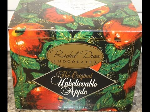 Rachel Dunn Chocolates: The Original Unbelievable Apple Review