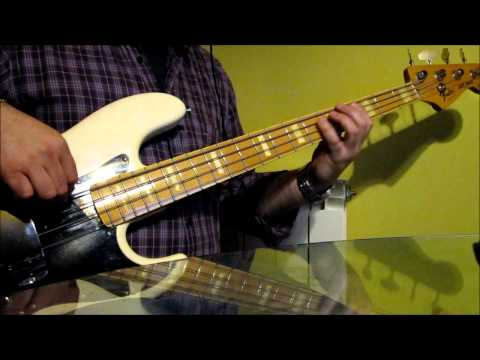 Marc Anthony - Vivir Mi Vida Bass Cover