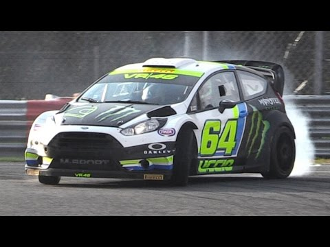 Monza Rally Show 2015 Shakedown - Rally Cars In Action On Track
