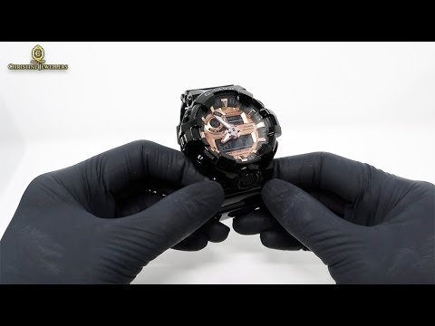 Unboxing New 2019 G-SHOCK Analog-Digital GA700MMC-1A Rose Gold