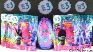 Dreamworks Trolls Blind Bags Series 3 Opening Surprise Toys for Kids Fun Names Egg