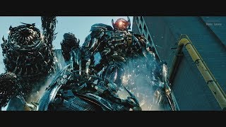 Transformers 3 (2011) - DrillerShockwaveSkyscraper best scenes - Only action [4K]