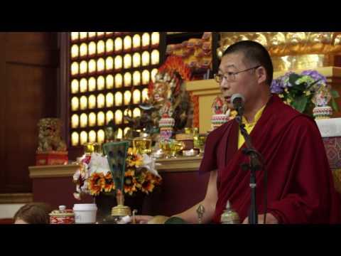 Amitabha Phowa empowerment (1) / 阿彌陀佛頗瓦灌頂(1 ) by Ven Lama Thubten Nima