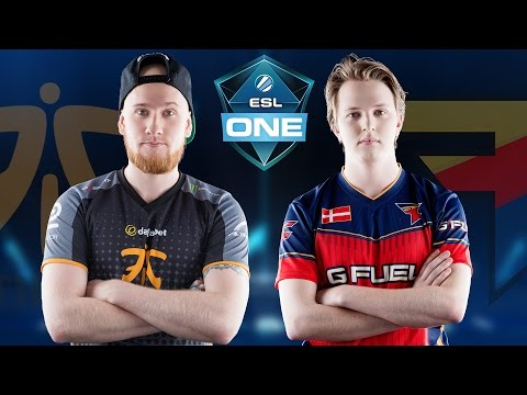 CS:GO - Fnatic vs. FaZe [Dust2] - ESL One Cologne 2016 - Group D