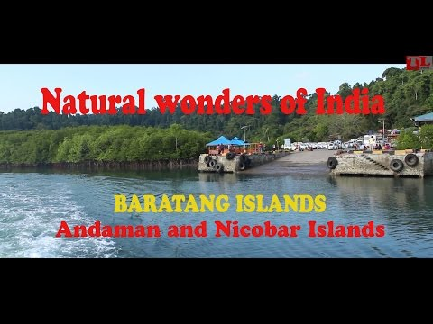 Natural wonders of Baratang Islands