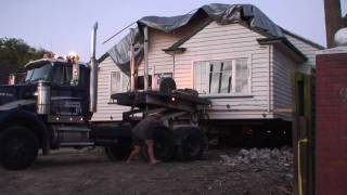 New Zealand house removal to Sefton, part 1