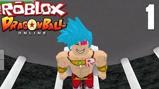 Roblox Dragon Ball Z Online: Création de personnages (fr) SSJGSSJ Broly?!