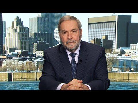 Tom Mulcair: MacKay's PR team made a 'big misstep' in interview