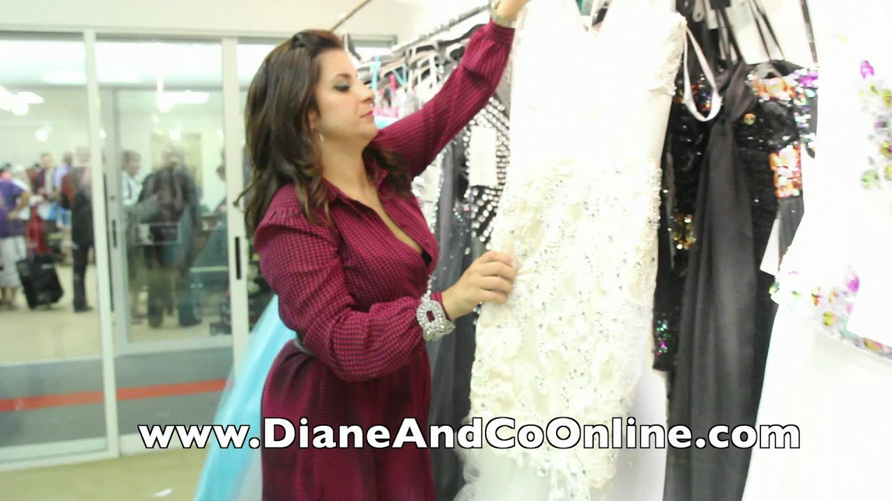 DIANE AND CO) JOVANI prom 2013 JERSEY COUTURE CAST .mov - YouTube
