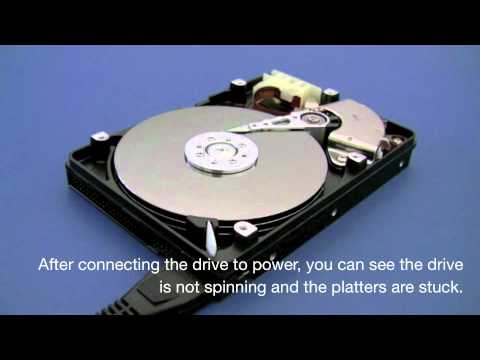 how to fix external hard drive beeping and clicking