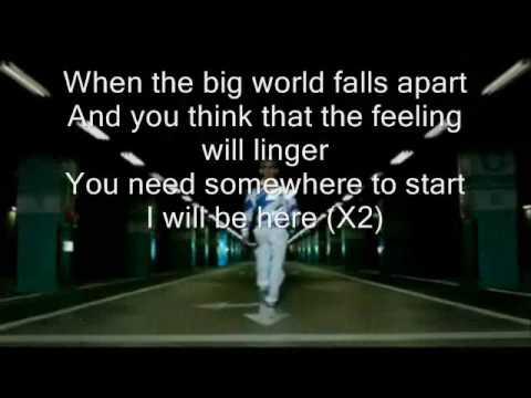 I Will Be Here (lyrics)