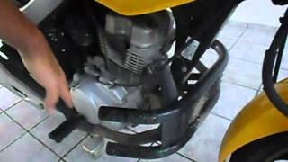 Protetor de motor e perna (mata cachorro)