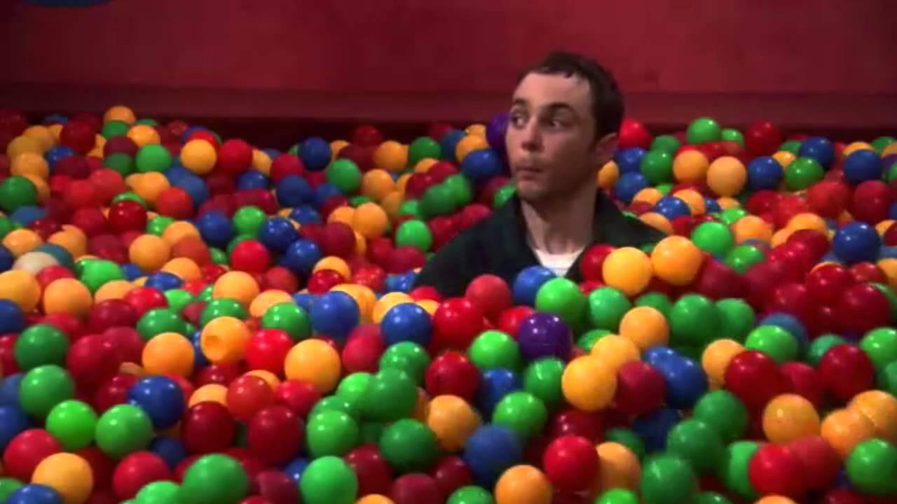 The big bang theory fran ais 3x14 piscine de balle tu m for Piscines a balles