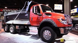 2018 International HV 613 Dump Truck - Walkaround - Debut at 2017 NACV Show Atlanta