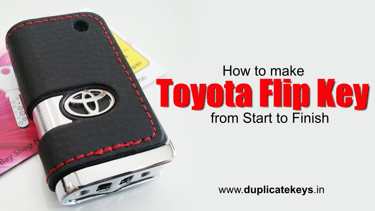 Toyota Flip Key Www Flipkeys In Youtube