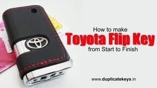 toyota flip key www flipkeys in
