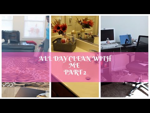 FALL | ALL DAY CLEAN UP | PART 2