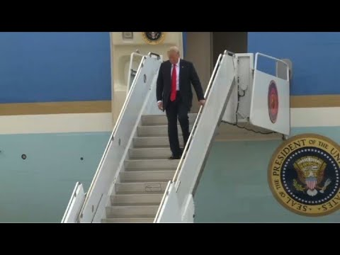 Trump arrives in California for visit to border