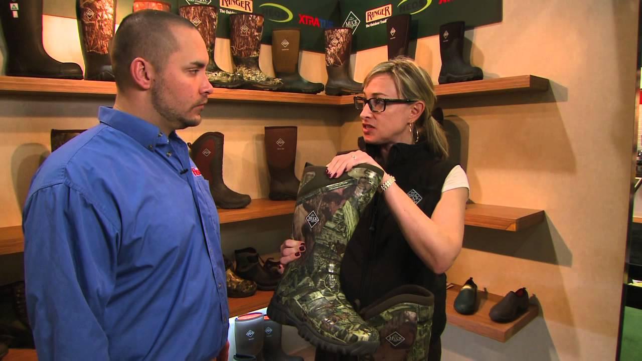 Muck Boots - Pursuit Line - SHOT Show 2013 - Luke Hartle - YouTube