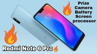 Redmi Note 6 Pro 🔥 price, release date, specified detail, camera, battery, procedure👍