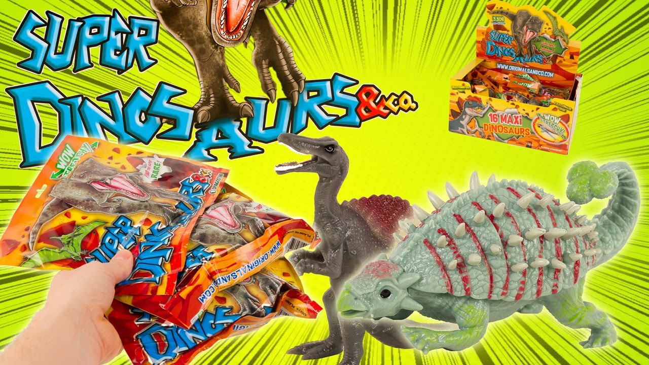 Download SUPER DINOSAURS & CO 16 Dinosaures à Collectionner chez votre marchand de journaux Altaya Review