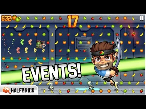 JETPACK JOYRIDE CUT & RUN - FRUIT NINJA UPDATE