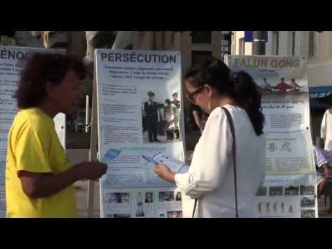 Stand information de Marseille 22 08 2015