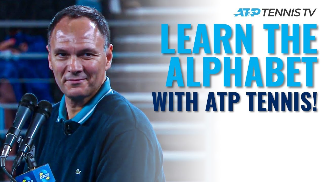 Learn the Alphabet with ATP Tennis!