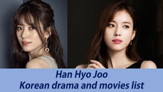 Video TOP 15 HAN HYO JOO 'S BEST KOREAN DRAMA SERIES AND MOVIES LIST TILL 2017 download MP3, 3GP, MP4, WEBM, AVI, FLV April 2018