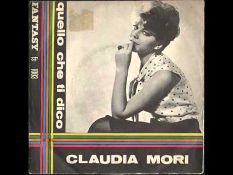 CLAUDIA MORI - NON GUARDARMI (Only Love Me) - FANTASY FS 1003.wmv