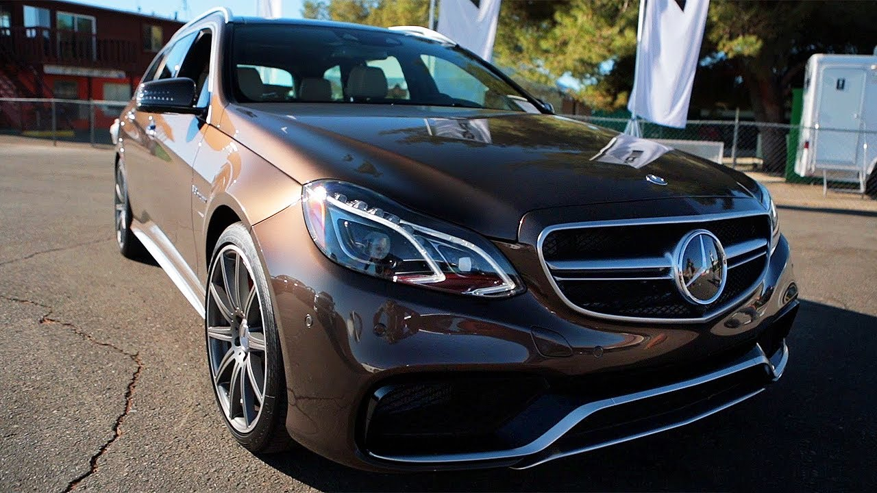 The One With The 2014 Mercedes Benz E63 Amg Wagon World S Fastest