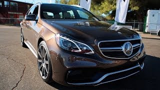 The One With The 2014 Mercedes-Benz E63 AMG Wagon! – World's Fastest Car Show Ep 3.23