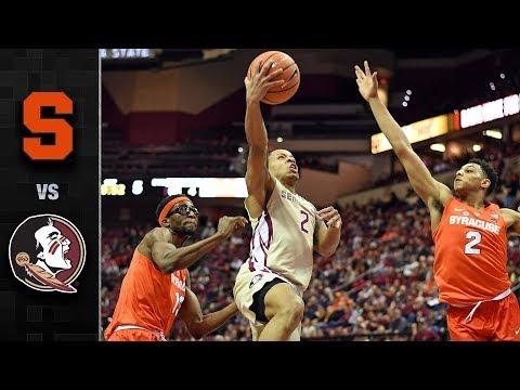 Syracuse vs. Florida State Basketball Highlights (2017-18)