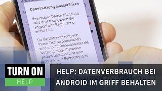 Datenvolumen bei Android im Griff behalten - HELP - 4K