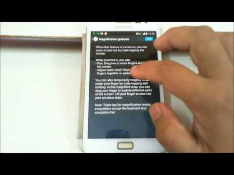 56b41ed4b0c Triple Tap to Zoom feature in Android Phones - YouTube